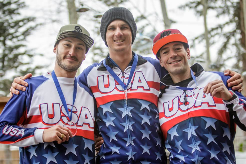 American snowboarders impressed on day one of the IPC Alpine Skiing Para-Snowboarding World Cup ©Joe Kusumoto