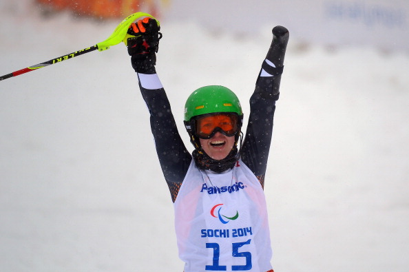 Andrea Rothfuss has recorded a hat trick of wins at the IPC Europa Cup in Matrei, Austria ©Getty Images