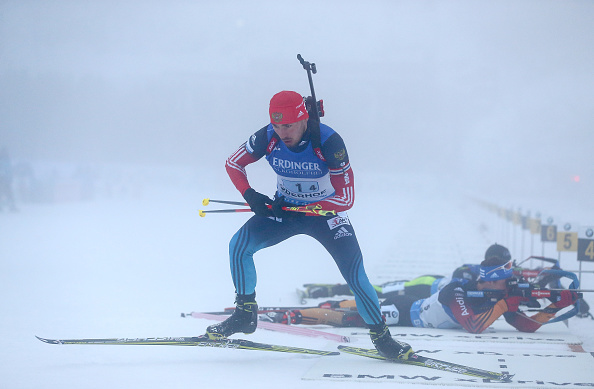 Anton Shipulin was the star performer for the victorious Russian team