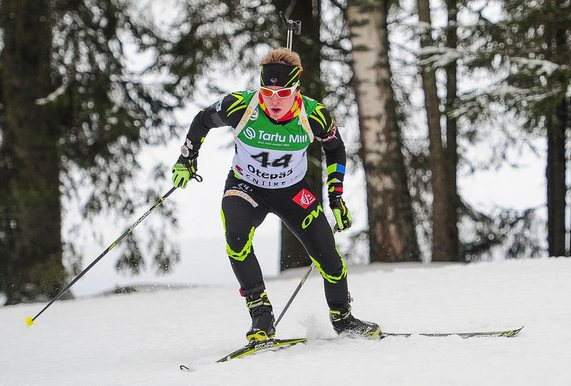 Aristide Bègue has won the junior men's title on the opening day of Open European Biathlon Championships ©IBU/Andrei Ivanov