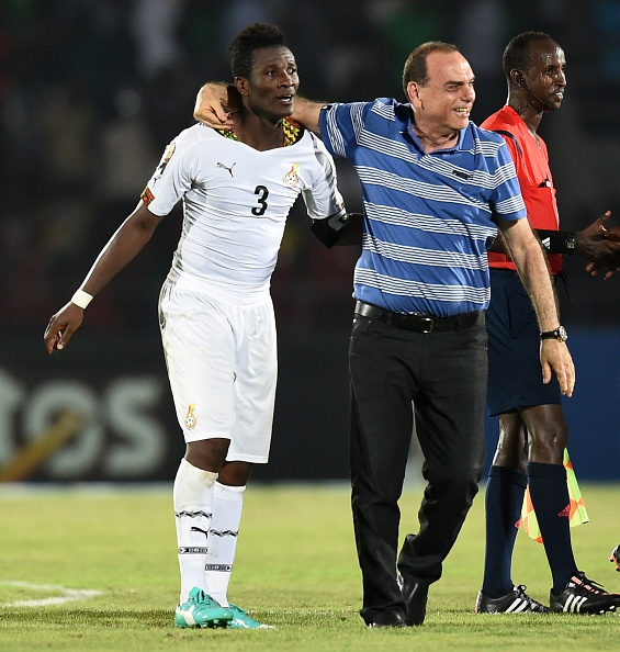 Asamoah Gyan struck a late winner to give Ghana all three points against Algeria ©Getty Images