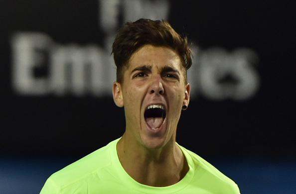 Australia Open day one saw the home favourite Thanasi Kokkinakis knock out 11th seed Ernest Gulbis ©AFP/Getty Images