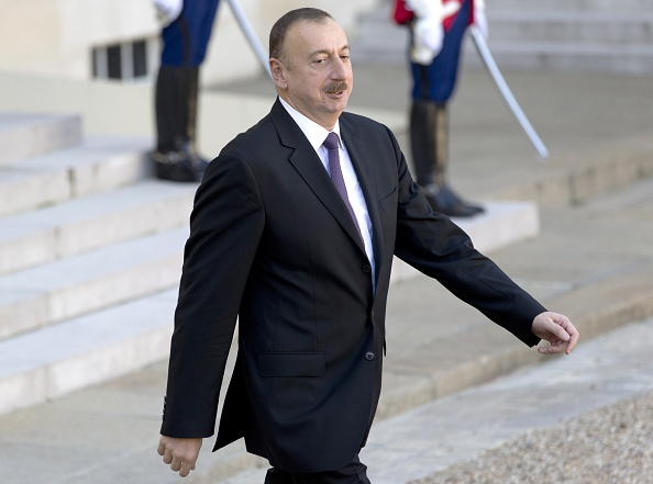 Azerbaijan President Ilham Aliyev is set to address an audience of several hundred at a Baku 2015 dinner ©Getty Images