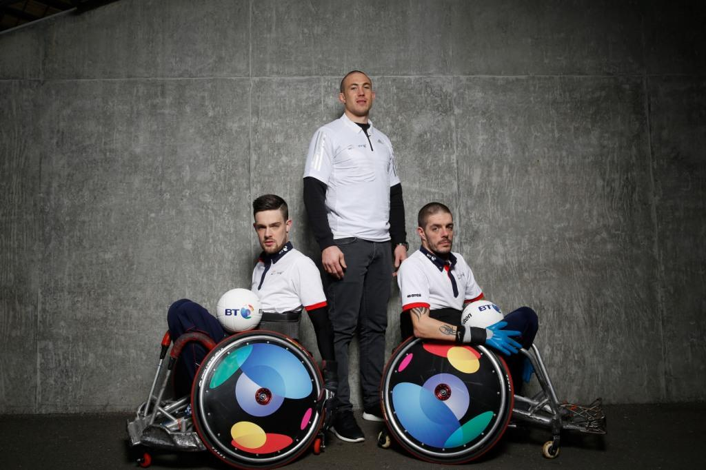 BT has signed a three year partnership with GB Wheelchair Rugby ©BT
