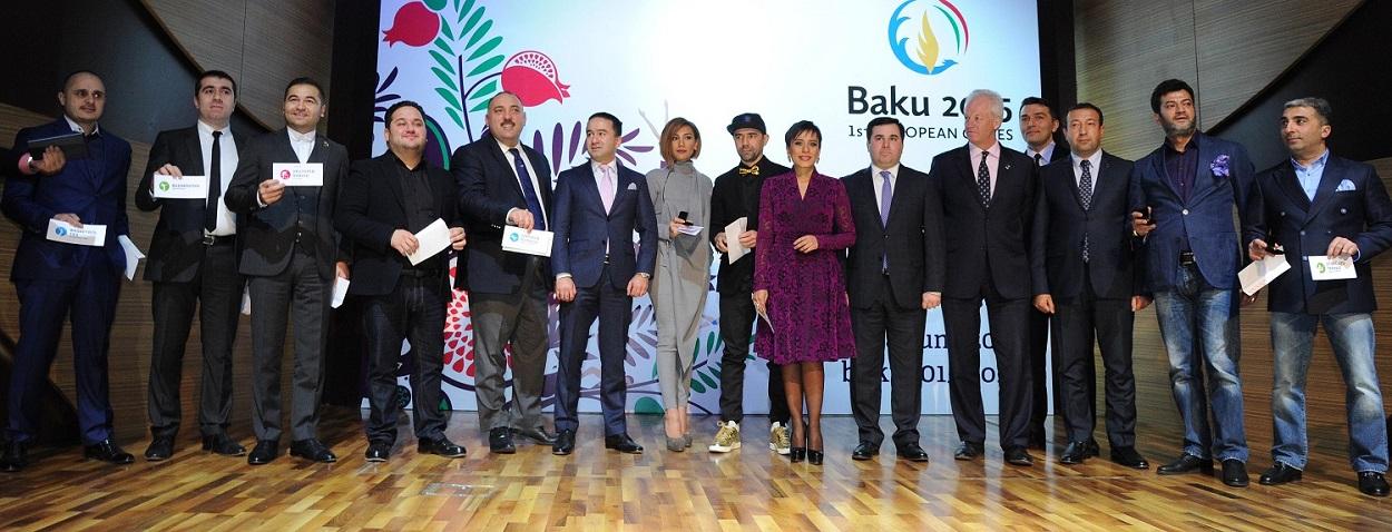 Baku 2015 has revealed 13 Azerbaijani stars that will act as Celebrity Ambassadors for Baku 2015 ©Baku 2015