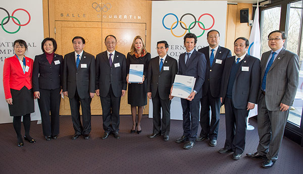Beijing and Almaty have submitted their Candidature Files for the 2022 Winter Games ©IOC