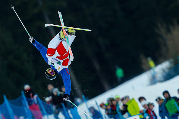 Anthony Benna claimed a shock win as he took the men's gold medal ahead of defending champion Mikaël Kingsbury ©Getty Images