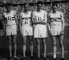 Frederick Wolff (second left) won 4 x 400m relay gold at the 1936 Olympics in Berlin ©Getty Images
