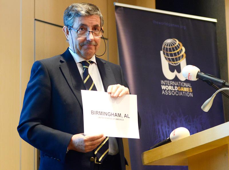 Birmingham, Alabama were awarded the 2021 World Games ©IWGA