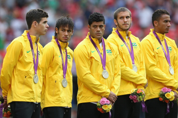 Brazil have never won an Olympic football gold medal with Neymar and his team mates losing to Mexico in the final of London 2012 ©Getty Images