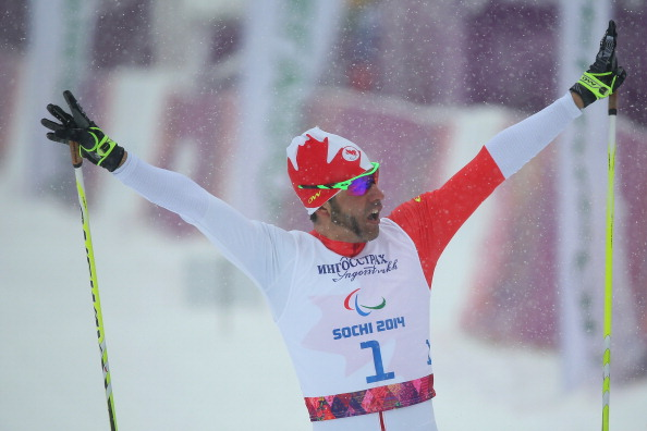 Brian McKeever claimed the first Canadian gold of the contest in his one and only race of the championships - the men's long distance cross-country standing event ©Getty Images