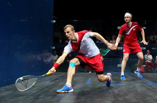British squash fans will be able to watch home talent, such as Nick Matthew on BT Sport ©Getty Images