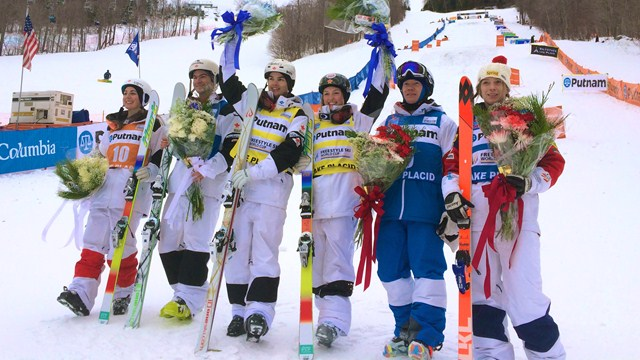 Canada reigned supreme with two gold and two bronze medals in Lake Placid ©FIS