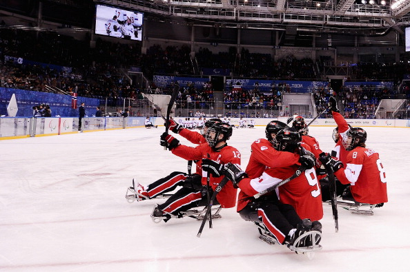 Canada were bronze medal winners at the Winter Paralympic Games in Sochi ©Getty Images