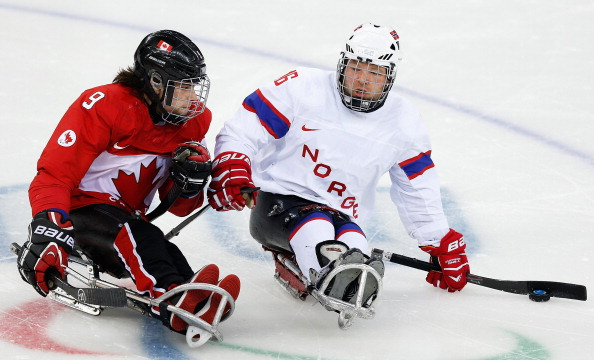 Canadian ice sledge hockey bronze medal winner Anthony Gale is also a member of the Cruisers ©Getty Images