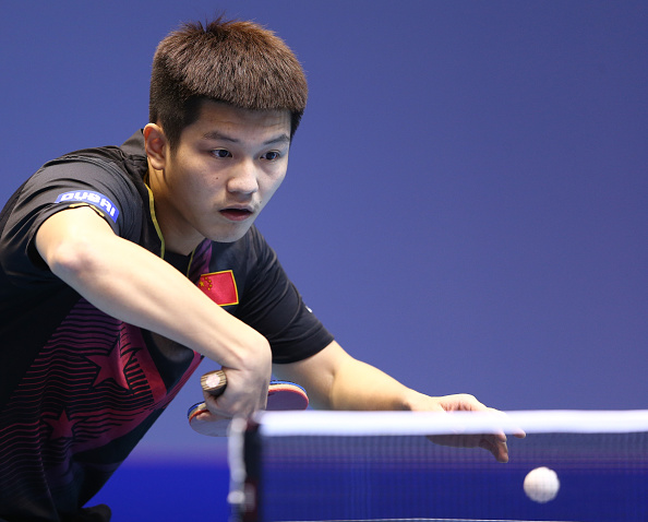 China have secured the double on the final day of the ITTF World Team Cup in Dubai ©Getty Images