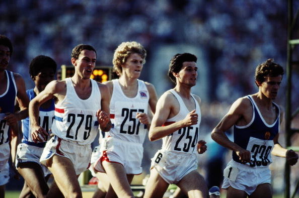 The Coe vs Ovett rivalry was one of the big draws of athletics for many fans ©Getty Images