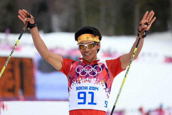 Dachhiri Sherpa was the sole Nepalese athlete to compete at the 2014 Winter Olympics in Sochi