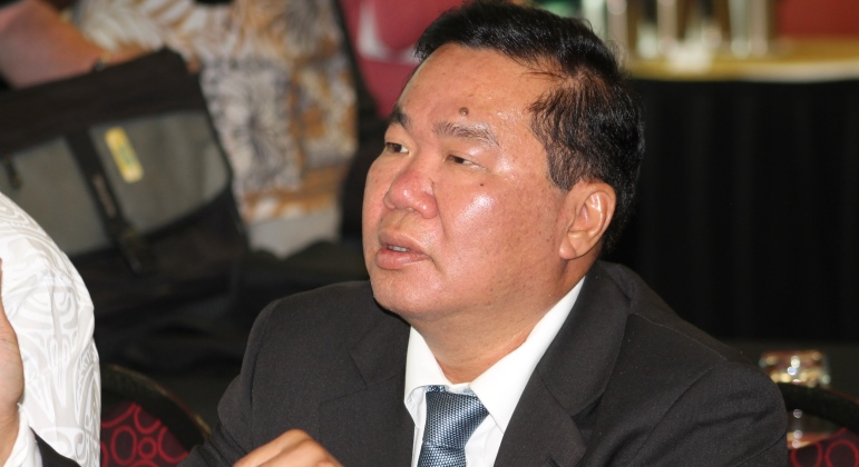 Papua New Guinea's David Chung has been re-elected President of the Oceania Football Confederation ©OFC