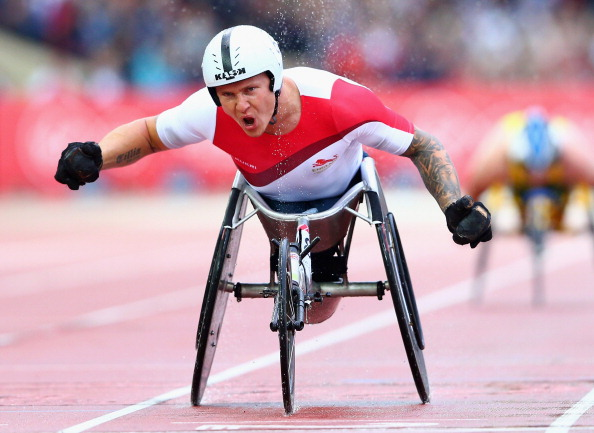 David Weir has been named in the Great Britain and Northern Ireland marathon team for the International Paralympic Committee World Championships ©Getty Images