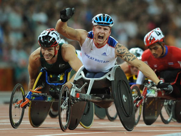 David Weir won best male at the 2013 Paralympic Sports Awards after winning four golds at London 2012