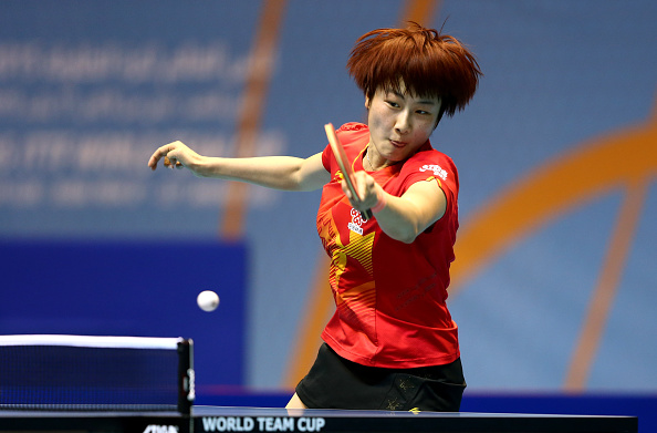 Ding Ning was once again in superb form as she helped China to a 3-0 win over Taiwan ©Getty Images