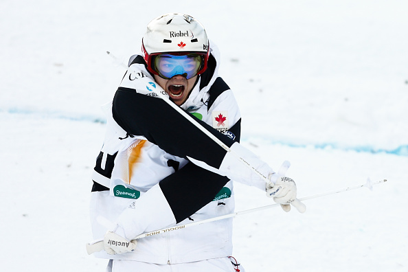 Dual moguls world champion Mikael Kingsbury has a mammoth lead in the men's World Cup standings ©Getty Images