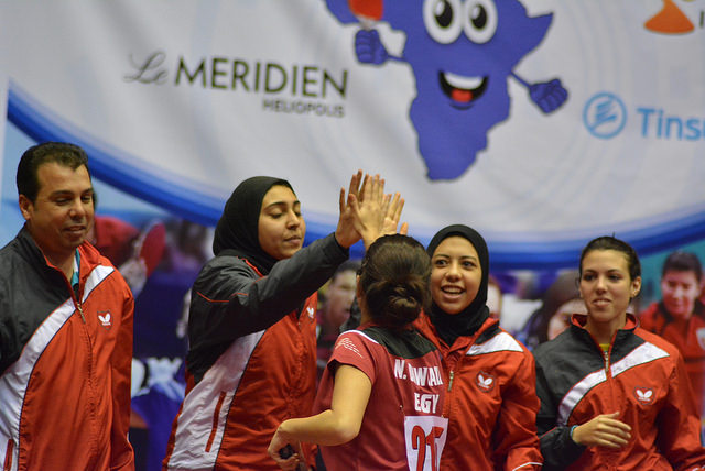 Egypt have won both the men's and women's team titles at the 2015 ITTF-Africa Senior Championships in Cairo ©ITTF