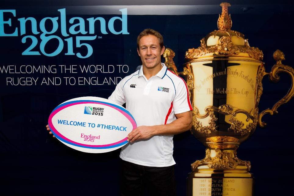 England Rugby 2015 have began sending offers for The Pack ©England Rugby