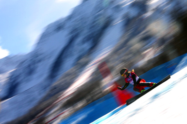 Ester Ledecka of the Czech Republic won the World Cup event in Bad Gastein ©Getty Images