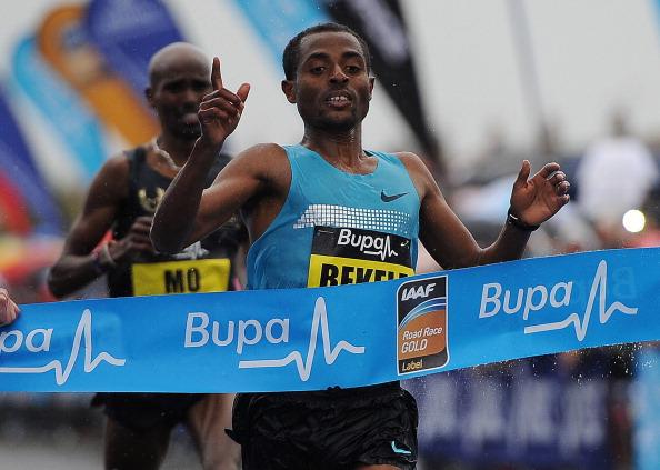 Ethiopia's Kenenisa Bekele, the 2013 Great North Run winner, will aim to upset the Kenyan favourites ©Getty Images