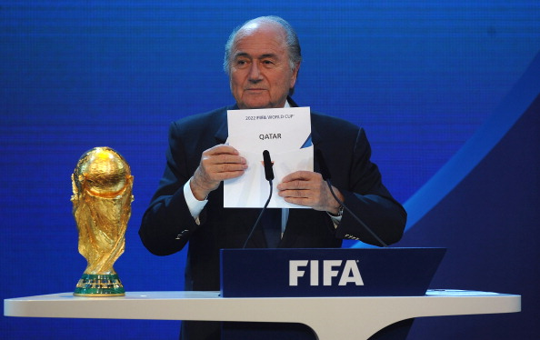 FIFA President Sepp Blatter has said he would be against the idea of holding the 2022 FIFA World Cup at the same time as the Winter Olympics but has yet to rule out the possibility ©Getty Images