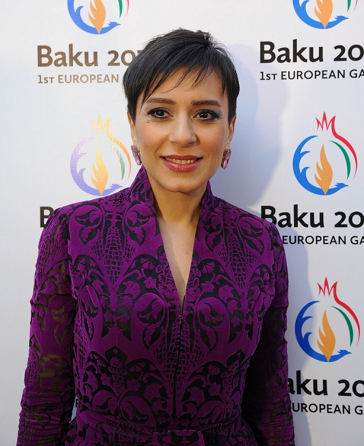 Famous singer and composer Tunzala Aghayeva has been named as one of the 13 Celebrity Ambassadors for Baku 2015 ©Baku 2015