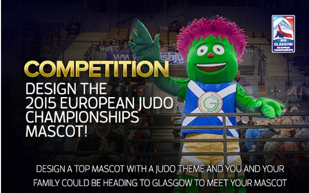 Fans can win a free family ticket to the European Judo Championships if their design is selected ©Euro Judo 2015