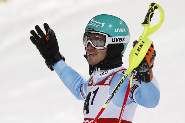 Felix Neureuther continued his good form ahead of next weeks World Championships with another podium finish