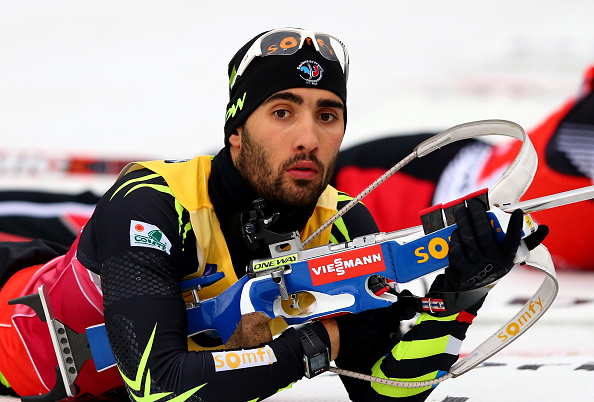 Fourcade proved too strong for the rest of the field as he clinched victory in the delayed sprint event ©Getty Images