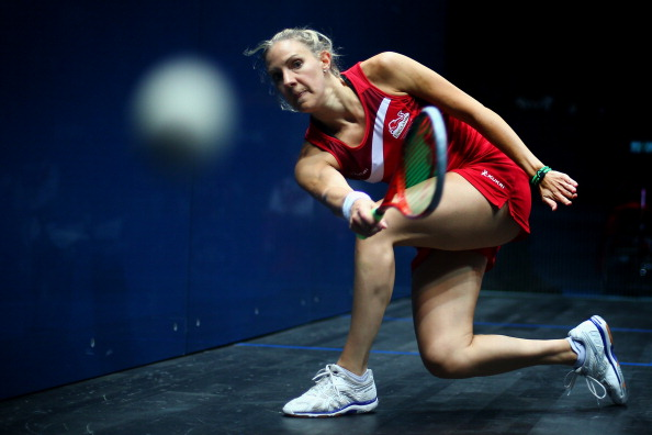 Great Britain's Laura Massaro has dropped to world number three in the latest rankings ©Getty Images