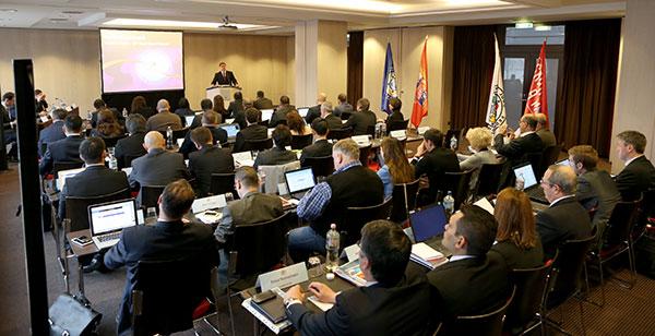 IJF Head Sport Director Vladimir Barta addressed the attendees of the two day seminar ©International Judo Federation
