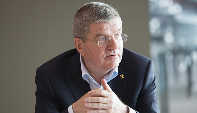 IOC President Thomas Bach says the Olympic Movement stands side by side with France in solidarity ©IOC