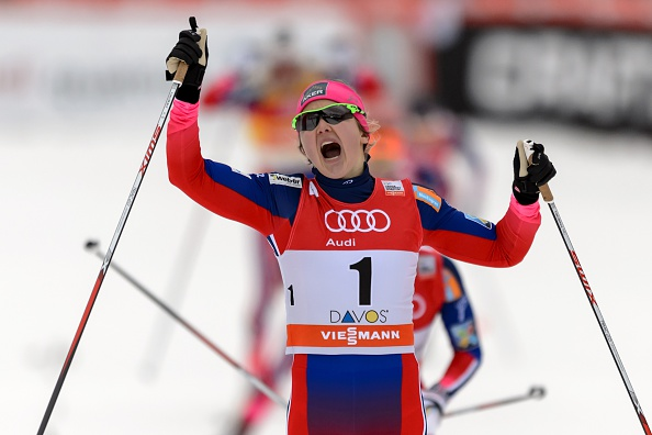 Ingvild Flugstad Oestberg clinched her first-ever World Cup victory in Estonia ©Getty Images