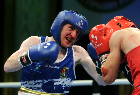 Ireland's Patrick Barnes is representing the Italia Thunder Boxing Team this season ©Getty Images
