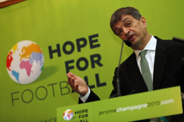 Jérôme Champagne confirmed his intention to run for FIFA Presidency in September of last year ©Getty Images