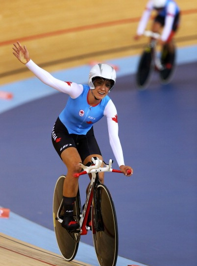 Jasmin Glaesser, Canada's most successful cyclist on the track in recent years, was among those to praise the new venue ©Getty Images