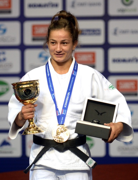 Kosovo's best hope of an Olympic medal will come in another combat sport, with jukoka Majlinda Kelmendi a two-time reigning world champion ©AFP/Getty Images