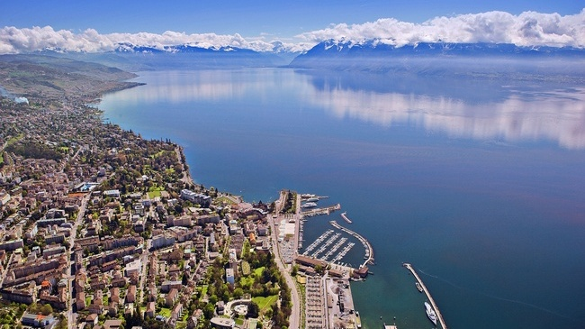 Lausane, on the banks of Lake Geneva, has been the official home to the International Olympic Committee since 1915 ©Getty Images