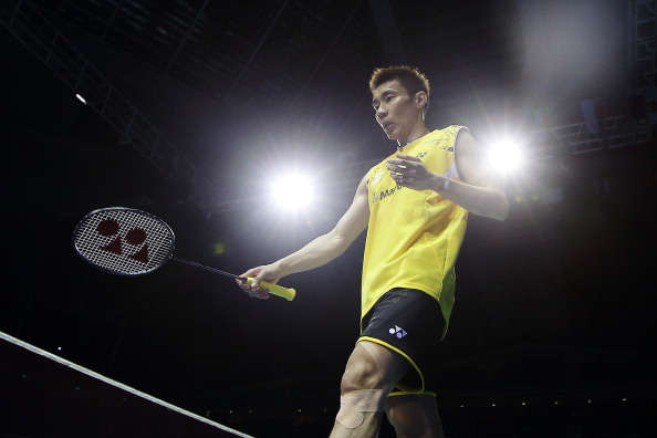 Lee Chong Wei, badminton's world number one player, failed a drugs test last month ©Getty Images