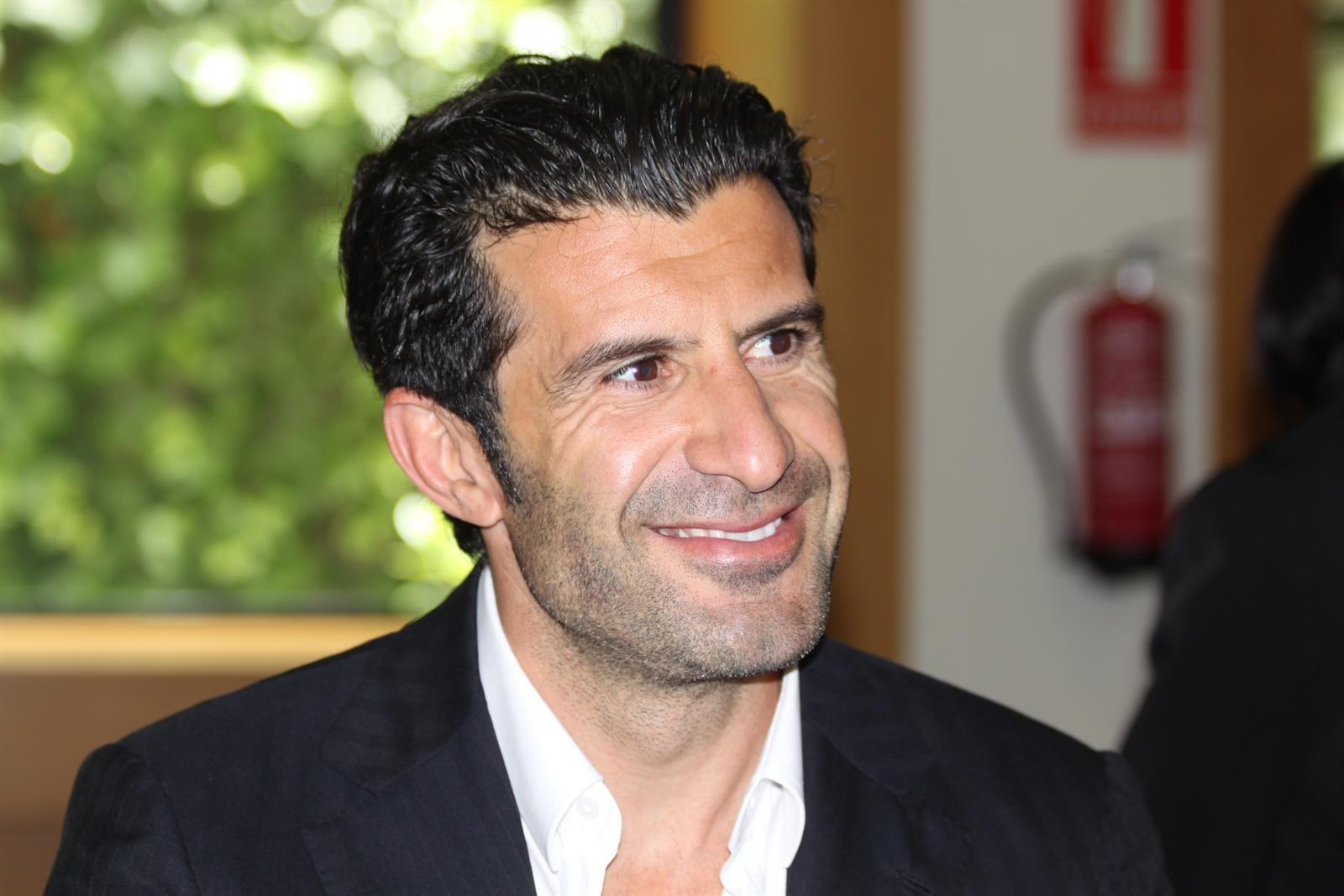 Former Portuguese international Luis Figo has announced that he will stand for FIFA President ©Getty Images