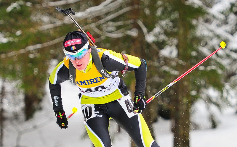 Luminita Piscoran secured Romania's first ever medal at the IBU Open European Championships with her victory in Estonia today ©IBU/Andrei Ivanov