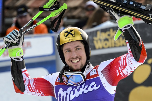 Marcel Hirscher is sitting pretty at the top of the FIS Alpine Skiing World Cup standings ©Getty Images