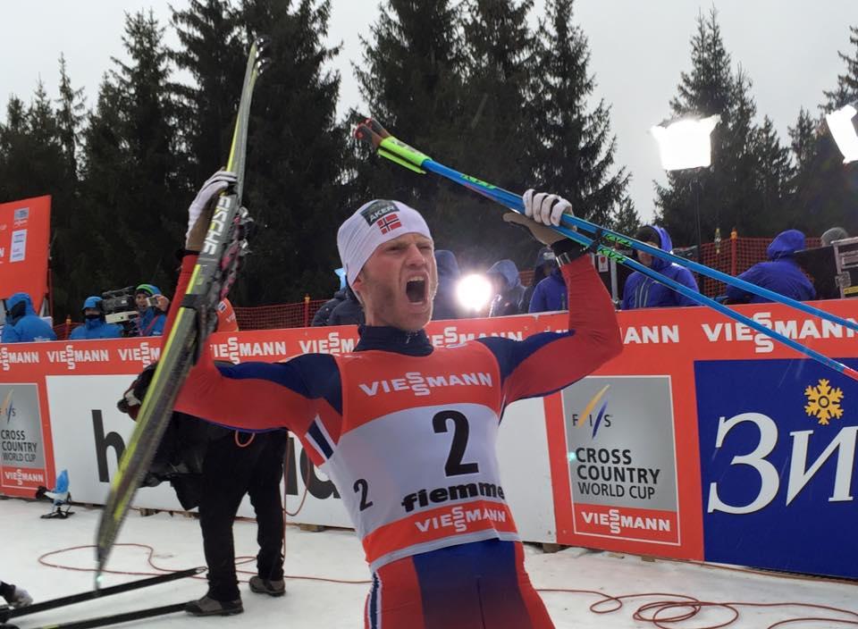 Martin Johnsrud Sundby claimed a second successive Tour de Ski title ©FIS Cross-Country Ski